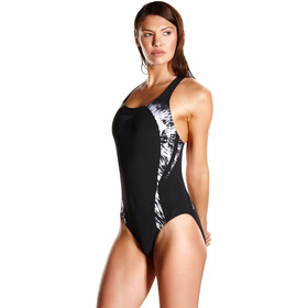 speedo Cosmic Motion Placement Powerback Women Black/White